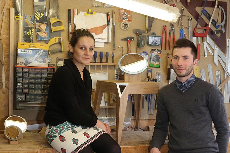 portrait atelier 124 s same int rieur. Black Bedroom Furniture Sets. Home Design Ideas