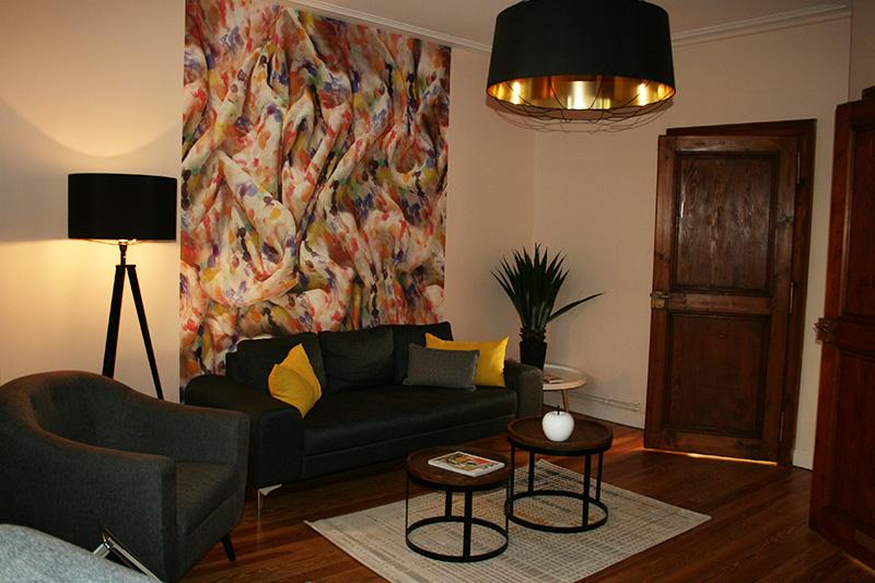 appartement AirB&B, recherche d'originalité et de côté fonctionnel